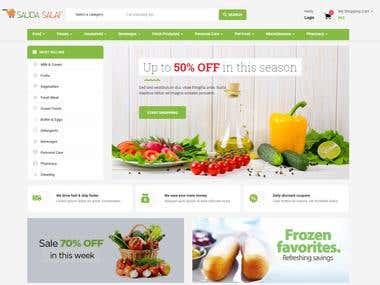 Saudasalaf (Online Grocery Store)