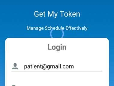 GetMyToken - is a App to generate Tokens/tickets for nearest