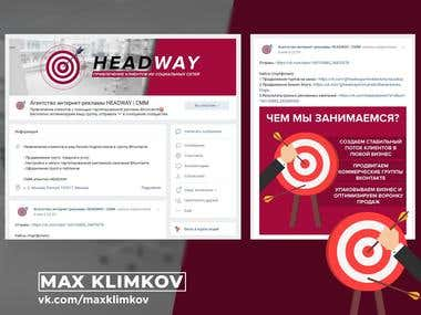 Social group design | Targeted Advertising Agency