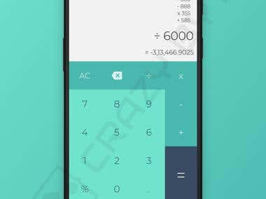 Simple Calculator Android app