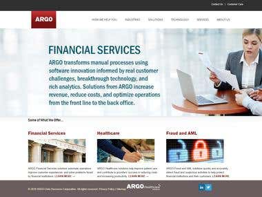 ARGO financial site