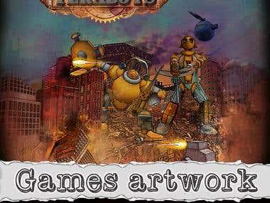 Games artwork