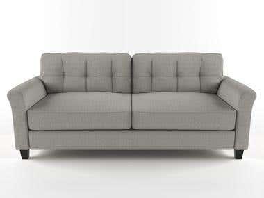 3d modeling - rendering Sofa