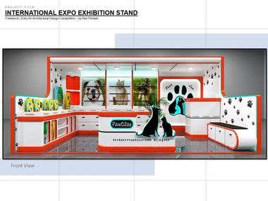 Pet Exhibition Stand (Competition Entry)