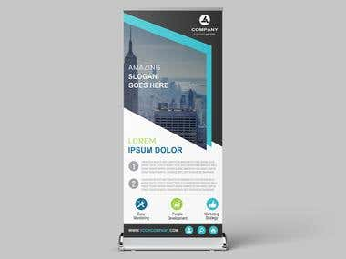 #Roll Up Banner