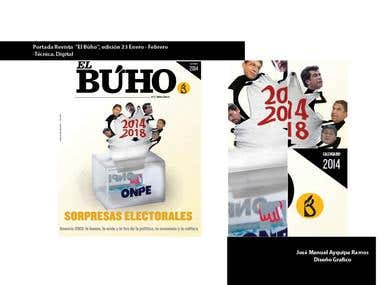 portada revista 2014 El Búho, Edición 23