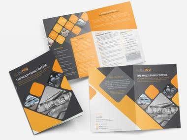 A4 Bi-Fold Brochure