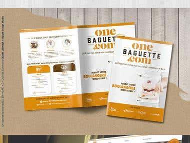Brochure pour one baguette