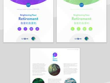 Colorful Newsletter for CLP Provident fund