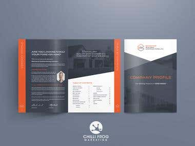 36 page Corporate brochure