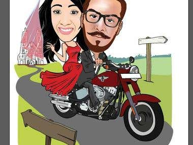 caricature design