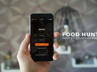 Food Mobile App UI/UX