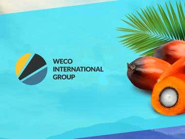 «Weco International Group». Landing Page