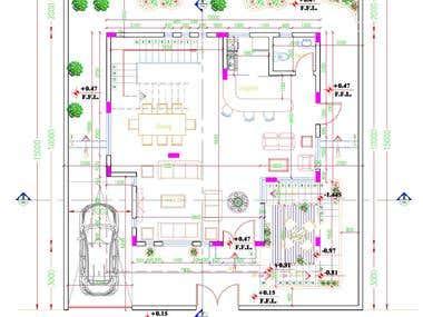 Plan, Autocad