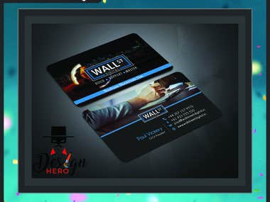 Business Card or Loyalty Card Design