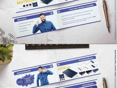 Brochure (gutscheinheft für druckportal)