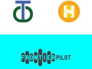 Letter-mark logo design or letter Icon.