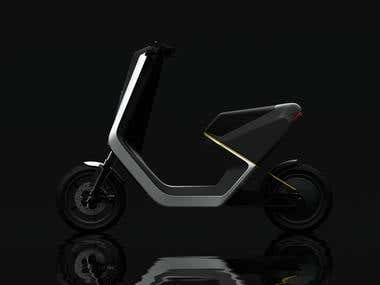 HUSQVARNA ELECTRIC SCOOTER CONCEPT