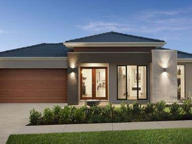3D Exterior visualization AUSTRALIA