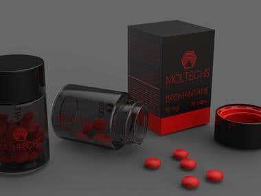 Design for farmaseutical company.