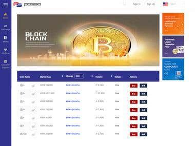 Passo Virtual Coin Trading Platform
