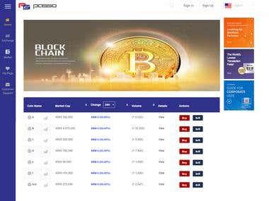 Passo Virtual Coin Trading Platform