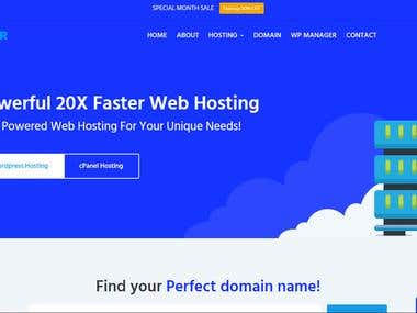 Unlimited 20X Faster & Secure Cloud CPanel Hosting