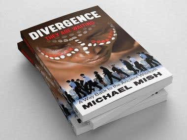Divergence - book cover, DVD cover and logo