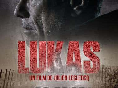 JCVD Poster - Lukas movie (2018)