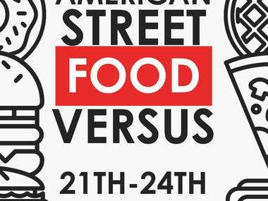 Monthly Street Food Festival Flyer