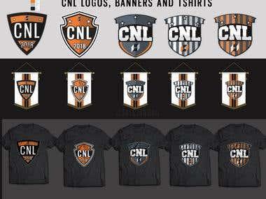 CNL Logos & Mockups
