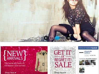Shopaholic ( Magento Site )