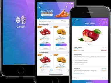Multivendor Marketplace IOS APP - Chef