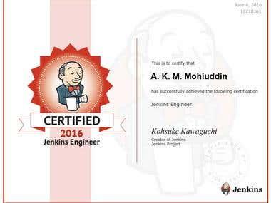Jenkins Certified.