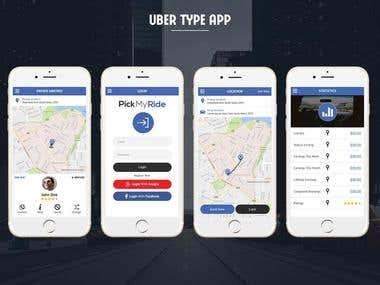 Uber Type App