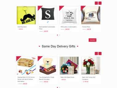 Online Gift Website
