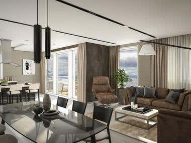 Luxury Apartment Interior Design!