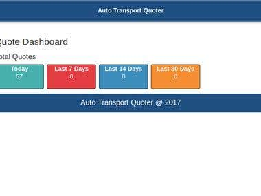 AUtotransport calculator for distance tracking