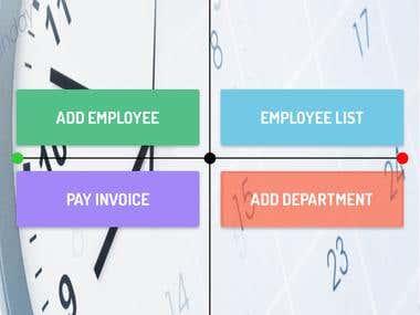 Employee salary record managment native application