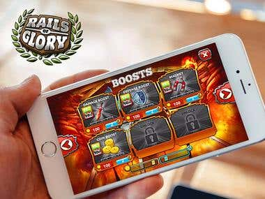 Rails of Glory - Action Multiplayer Game for iOS and Android