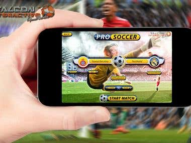 Multiplayer Soccer Mobile game for iOS and Android