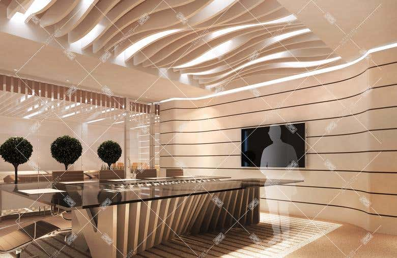 Interior Design Offices Shops Post Modern Style Freelancer