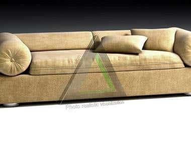 Furniture/Sofa 3D modeling