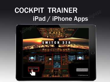 Cockpit Trainer - iPad / iPhone Apps