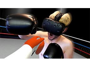 Virtual Reality Boxing Game (HTC Vive)
