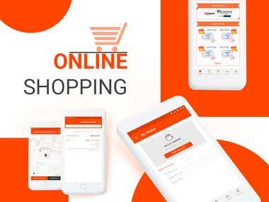 Online Shopping store : UX/UI