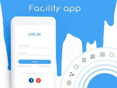 Facility Provider : UX/UI Design