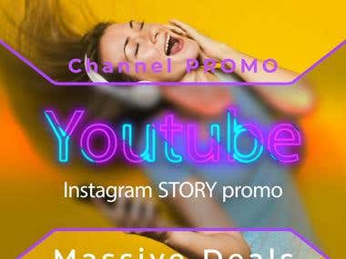Short promotional Video for youtube or Instagram