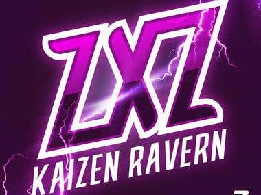 "Logo Team ESPORT ZXZ ""KIZEN RAVERN"""