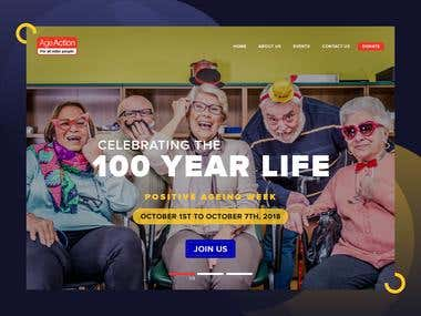 Complete WordPress Website for Positive Ageing Week